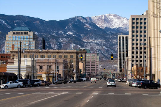 Central Colorado Springs